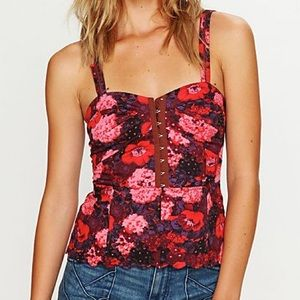 Free People Candy Coated Corset